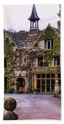 Manor House At Castle Combe  Beach Towel