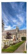 Marble Church Beach Towel by Adrian Evans