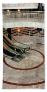 Marble Staircases Beach Towel
