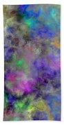 Marbled Clouds Beach Towel