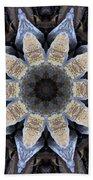 Marbled Mandala - Abstract Art Beach Towel