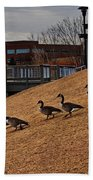 March To The Water Beach Towel