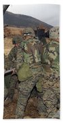Marines Load A 98-pound High Explosive Beach Towel
