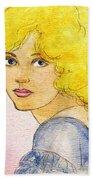 Marion Davies Beach Towel