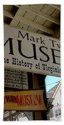 Mark Twian Museum Virginina City Nv Beach Towel by LeeAnn McLaneGoetz McLaneGoetzStudioLLCcom