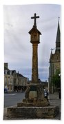Market Cross - Stow-on-the-wold Beach Towel