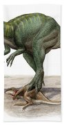 Marshosaurus Bicentesimus Beach Towel