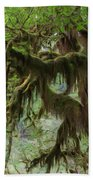 Marvelous Moss Beach Towel by Heidi Smith