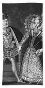Mary, Queen Of Scots Beach Towel
