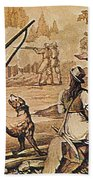 Mary Read And Anne Bonny, 18th Century Beach Towel