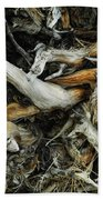Mass Grave Beach Towel by Donna Blackhall