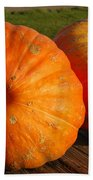 Mass Pumpkins Beach Towel