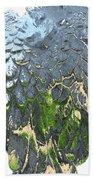 Matalic Angle Wings  Art Beach Towel