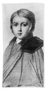 Maurice Sand (1823-1889) Beach Towel