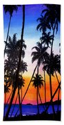 Mayaro Red Dawn Beach Towel