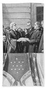 Mckinley Taking Oath, 1897 Beach Towel