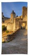 Medieval Carcassonne Beach Towel