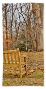 Meditation At Valley Forge Beach Towel
