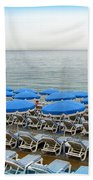 Mediterranean Blue Beach Sheet