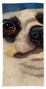 Meerkat Eyes Beach Towel
