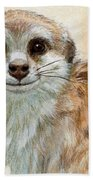 Meerkat 762 Beach Towel