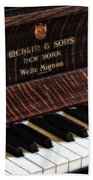Mehlin And Sons Piano Beach Towel