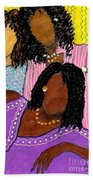 Mellow Sistahs Beach Towel