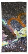 Melted Pin Up Girl Beach Towel