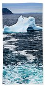 Melting Iceberg Beach Towel