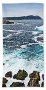 Melting Iceberg In Newfoundland Beach Towel