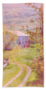 Memories Of The Farm Beach Towel