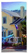 Mermaid House Beach Towel