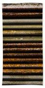 Metal Stripe  Beach Towel
