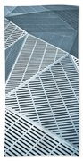 Metallic Frames Beach Towel