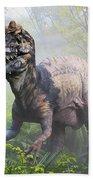 Metriacanthosaurus Beach Towel