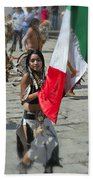 Mexican Heritage Beach Towel