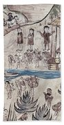 Mexico Indians C1500 Beach Towel