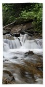 Michigan Waterfall Beach Towel