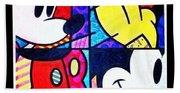 Mickey Colors Beach Towel