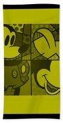 Mickey In Yellow Beach Towel