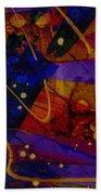 Mickey's Triptych - Cosmos IIi Beach Towel