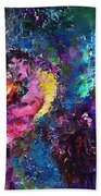 Midnight Kiss  Beach Towel