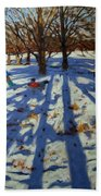 Midwinter Beach Towel