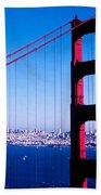 Mighty Golden Gate Beach Towel