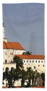 Mikulov Castle Beach Towel