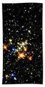 Milky Way Star Cluster Beach Towel