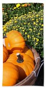 Mini Pumpkins Beach Towel by Kimberly Perry
