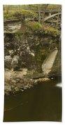 Minneopa Falls 39 Beach Towel