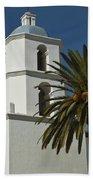 Mission San Luis Rey Iv Beach Towel