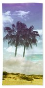 Mom's Tropical Dreams Beach Towel
